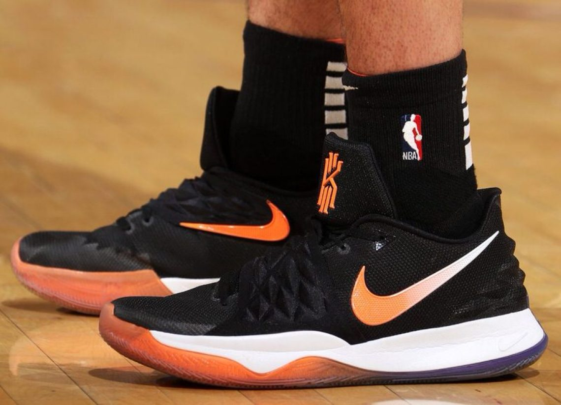 d2775436a84 Devin Booker in the Nike Kyrie Low PE (Nathaniel S. Butler NBAE via Getty  Images)