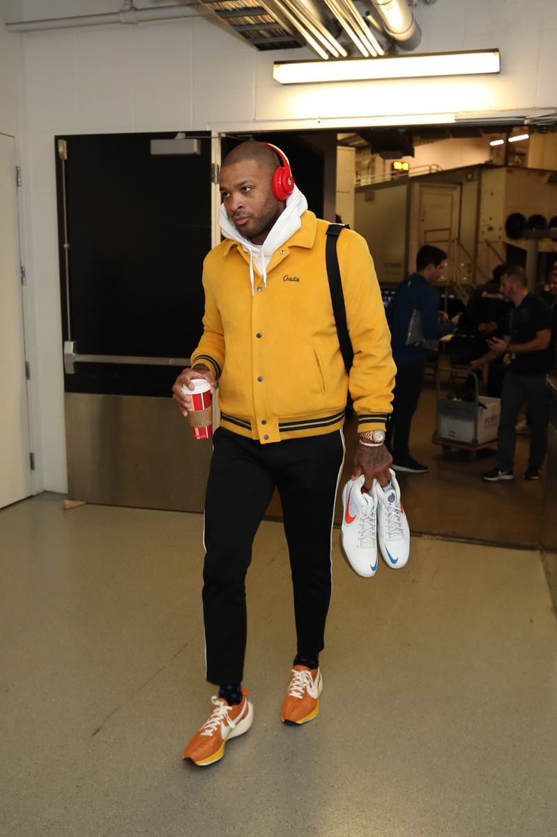 PJ Tucker in the Nike Air Force 1 Low 'Chamber of Fears""