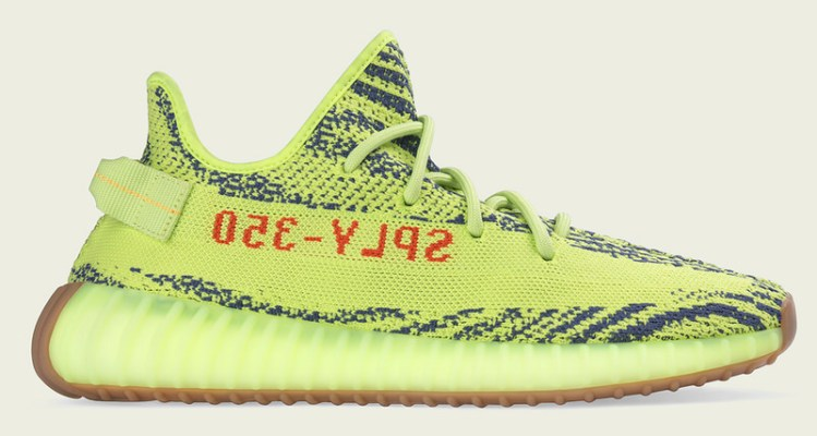 "6dfbd871475ff adidas Yeezy Boost 350 V2 ""Semi Frozen Yellow"" Restocks Next Week"