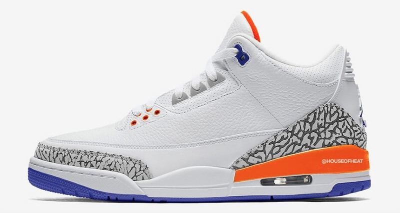 "efd2fcaa4bd2 Air Jordan 3 ""Knicks Rivals"" Takes Inspiration from One of MJ s Biggest  Opponents"