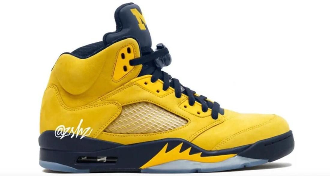 """Air Jordan 5 """"Michigan"""""""