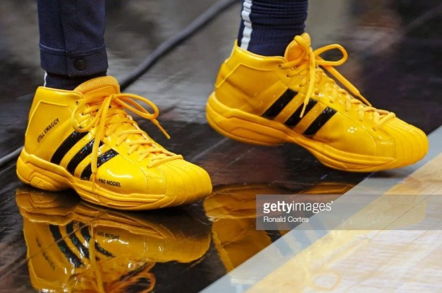 f941fbe61388 Nick Young in his adidas Pro Model PE (Photo by Ronald Cortes Getty Images)