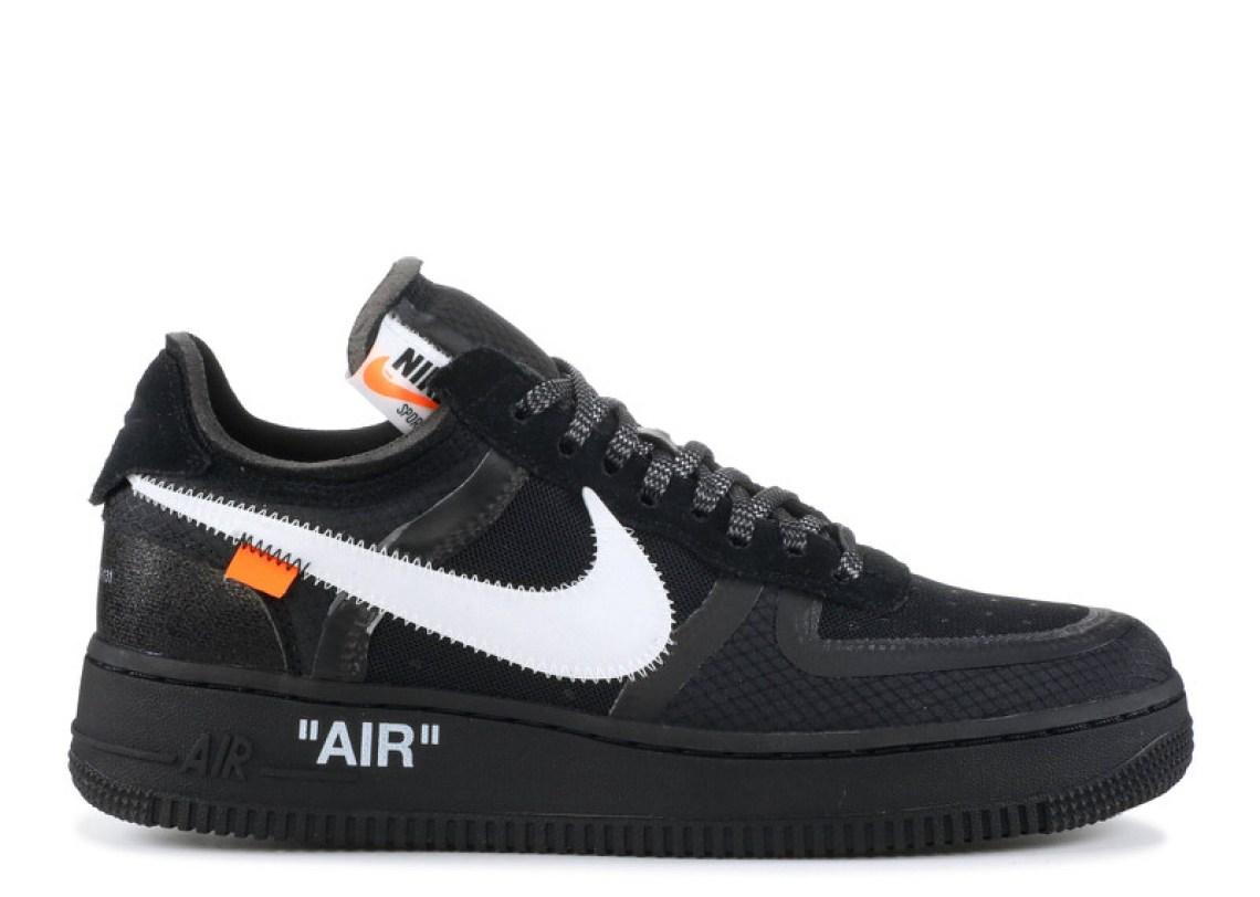 "b0c4c865572e Off-White x Nike Air Force 1 ""The 10"" Black White"