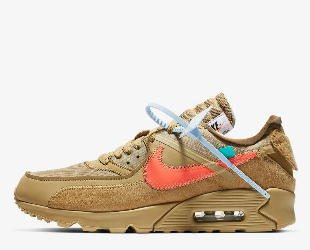 "huge discount 470ae 317c4 Off-White x Nike Air Max 90 ""Desert Ore"""
