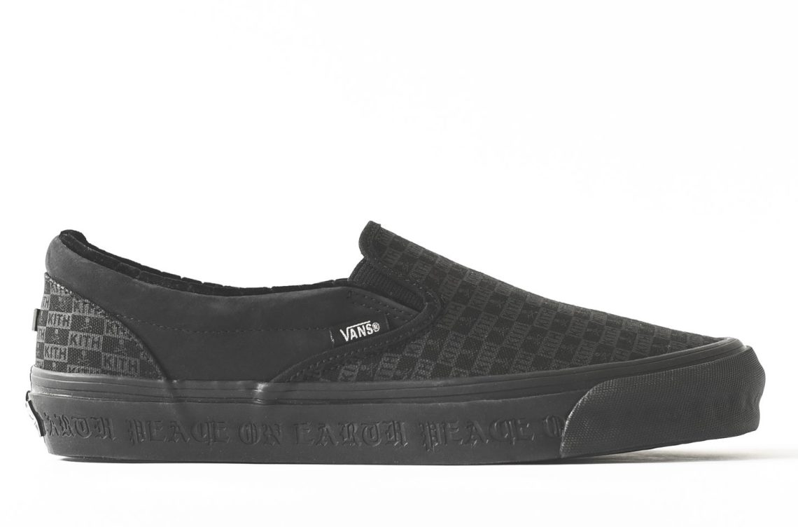 Kith x mastermind WORLD x Vans OG Classic Slip-On