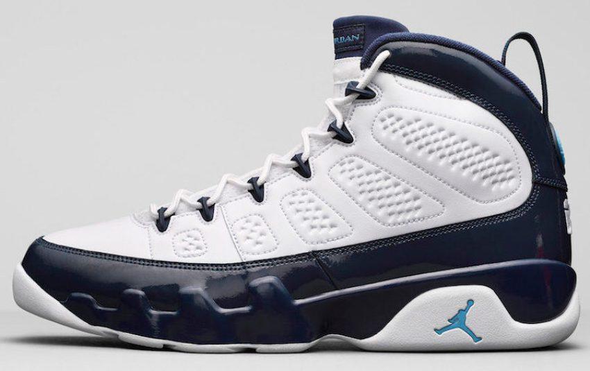 """Air Jordan 9 """"UNC"""""""