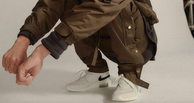 "Nike Air Fear of God Strap ""Light Bone"""