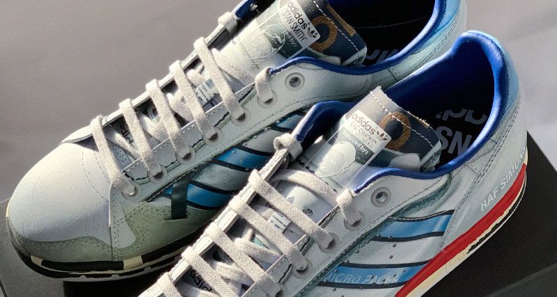 a59bcf30f96 Raf Simons Lends Micropacer Motif to Stan Smith