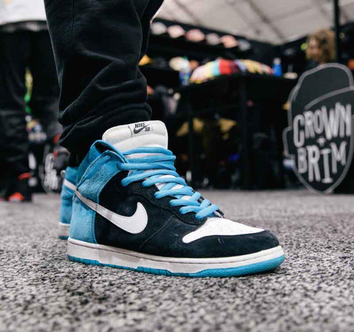 "Todd Bratrud x Nike SB Dunk High ""Send Help."""