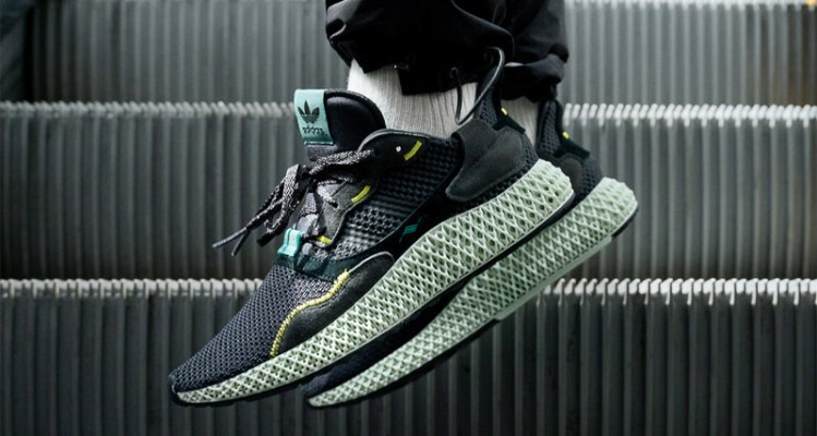 """adidas ZX4000 4D Follow-Up Release Arrives in """"Carbon"""" b095345fb"""