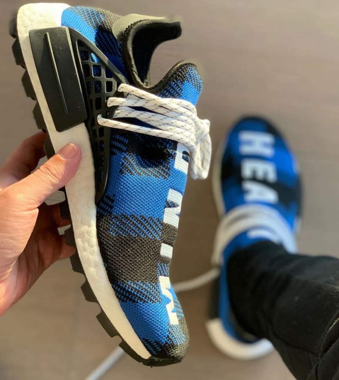 "sports shoes aad82 c9bad BBC x adidas NMD Hu ""Plaid"" ..."