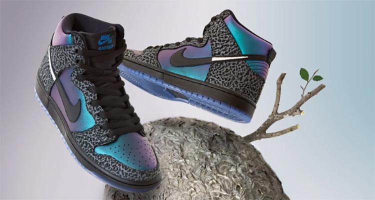 "Black Sheep x Nike SB Dunk High ""Black Hornet"""
