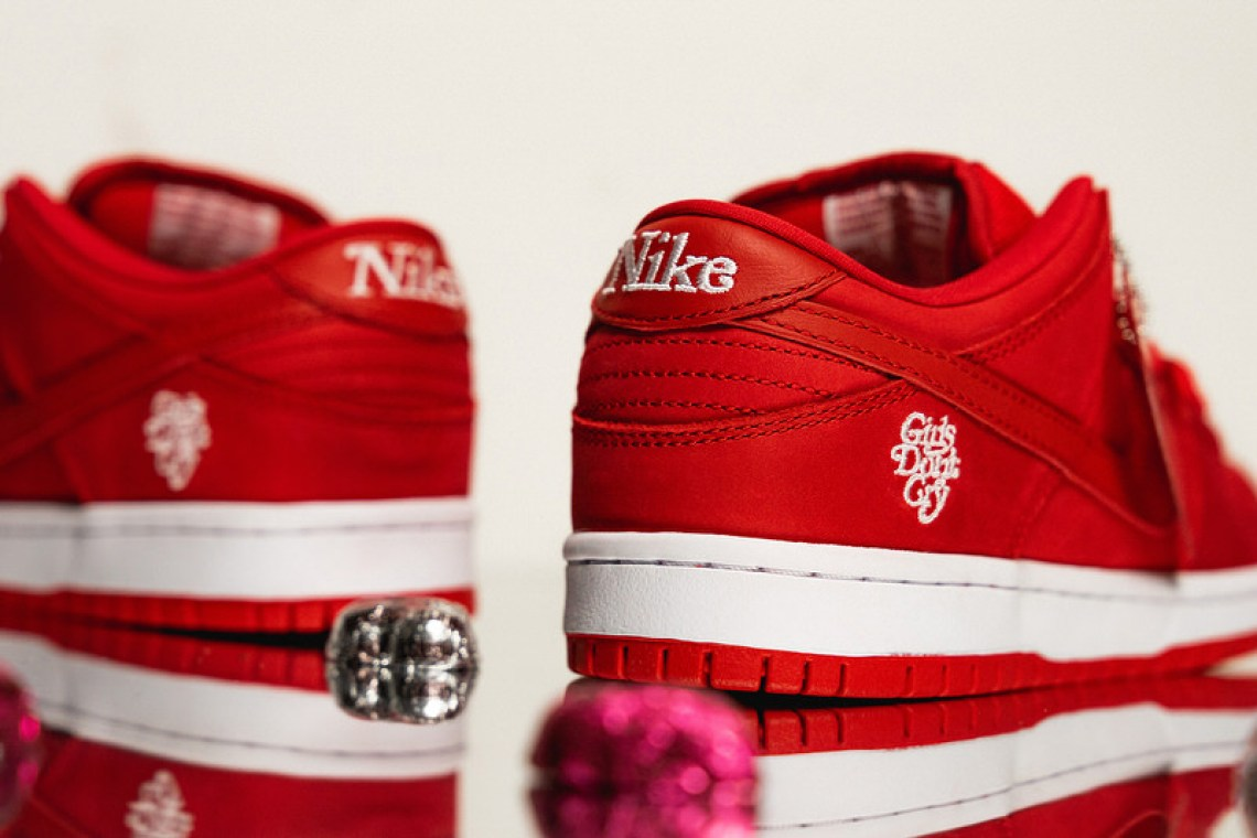 1ed567fce7d A Detailed Look at the Girls Don t Cry x Nike SB Dunk Low