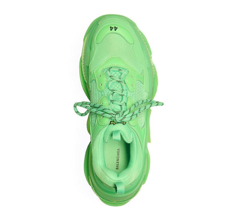 """Balenciaga Triple S """"Neon Green"""""""