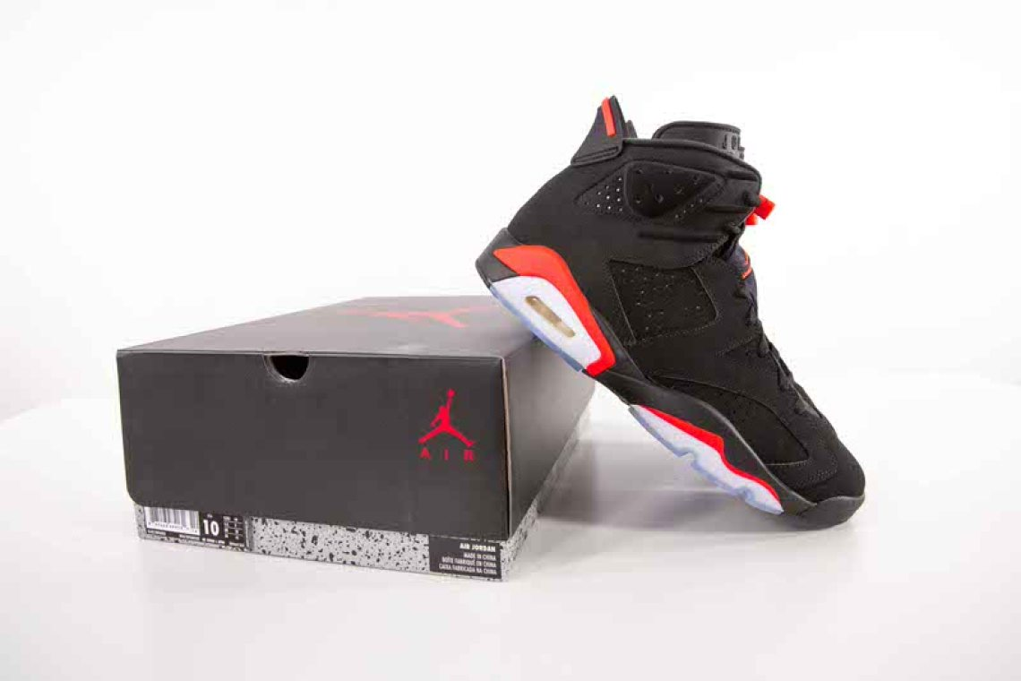 9dbe09fd50d Air Jordan 6 Black/Infrared // Throwback Thursday | Nice Kicks