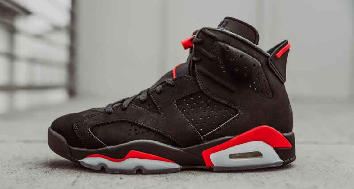 47ac17f8450db0 Original release info source  pinoe77 · Air Jordan 6 Retro Black Infrared