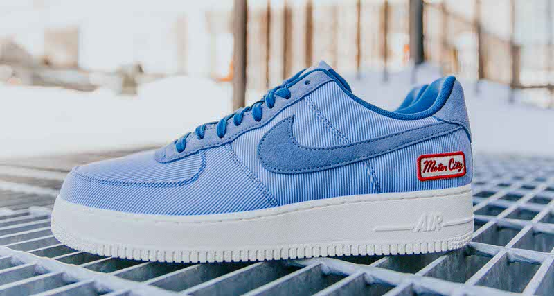 3607f5861e3f7d A Detailed Look at the Foot Locker Detroit Exclusive Nike Air Force 1