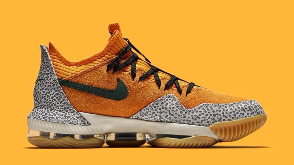 """Nike LeBron 16 Low """"Safari"""""""