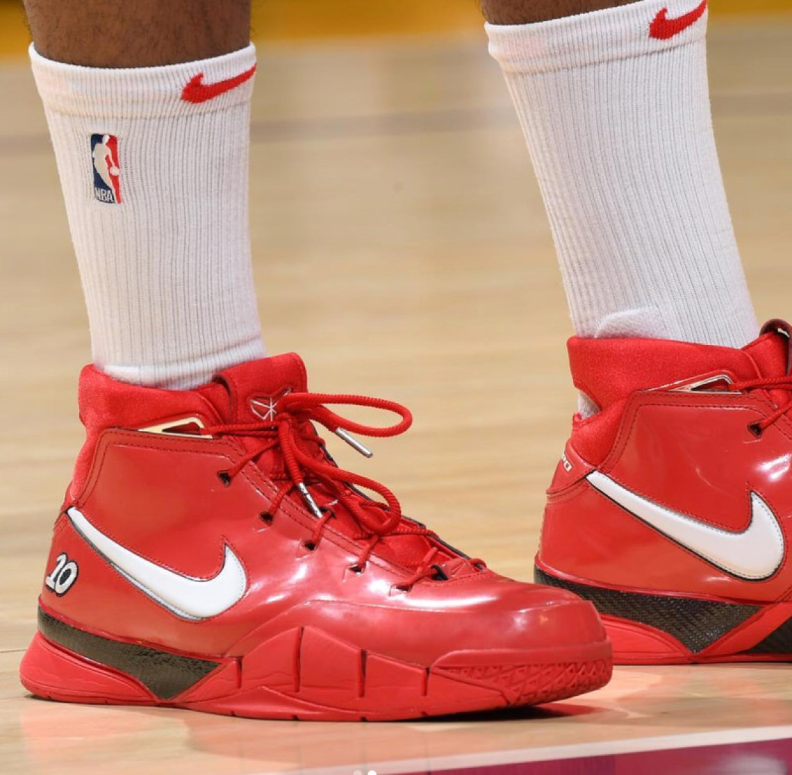 53e0684c3 ... PJ Tucker in the Nike Kobe 1 Protro DeMar DeRozan PE (photo via BR Kicks)  ...