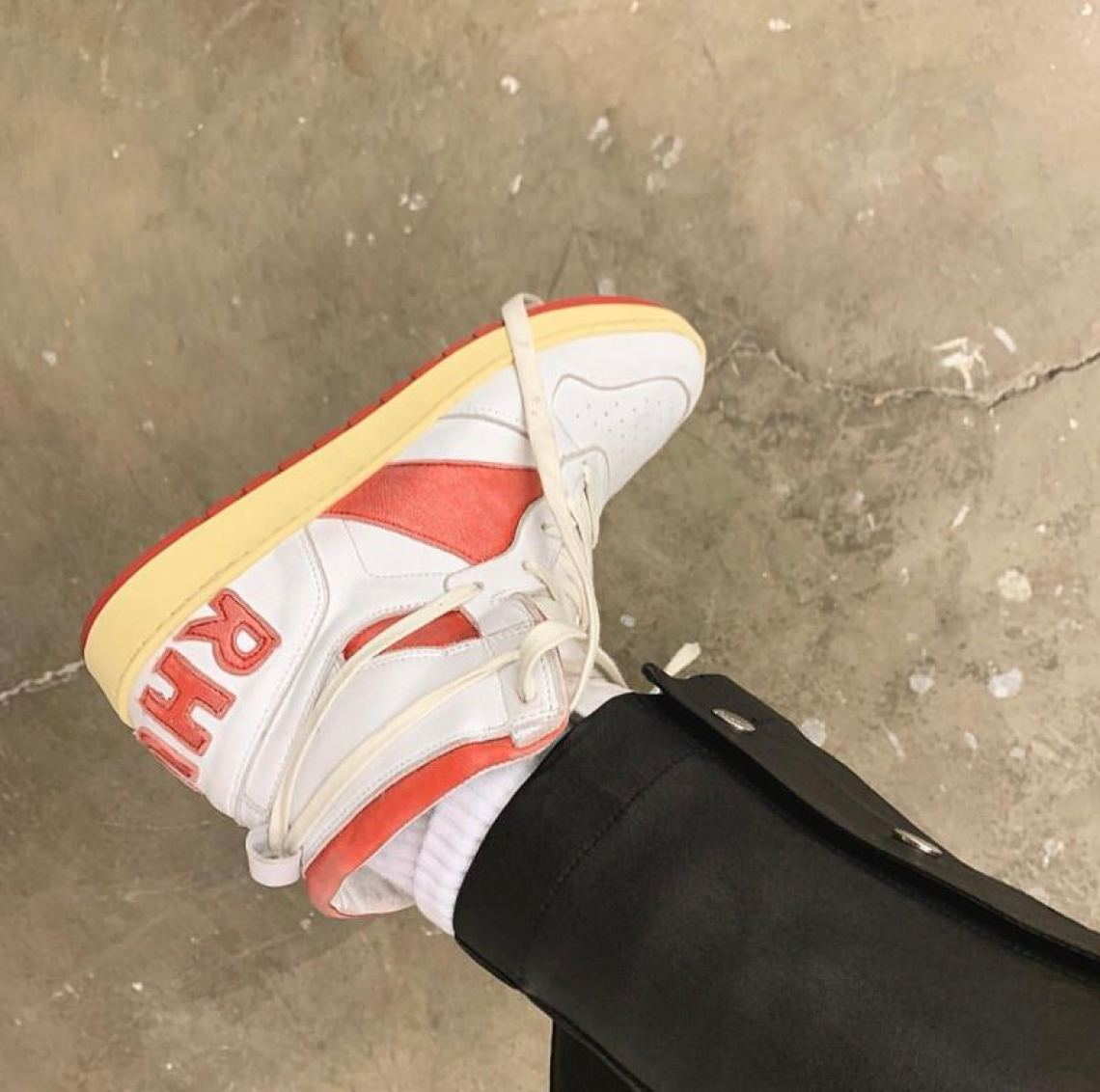 Rhuigi reminds us why his Rhude Recess Hi is going to be an all-year style staple.