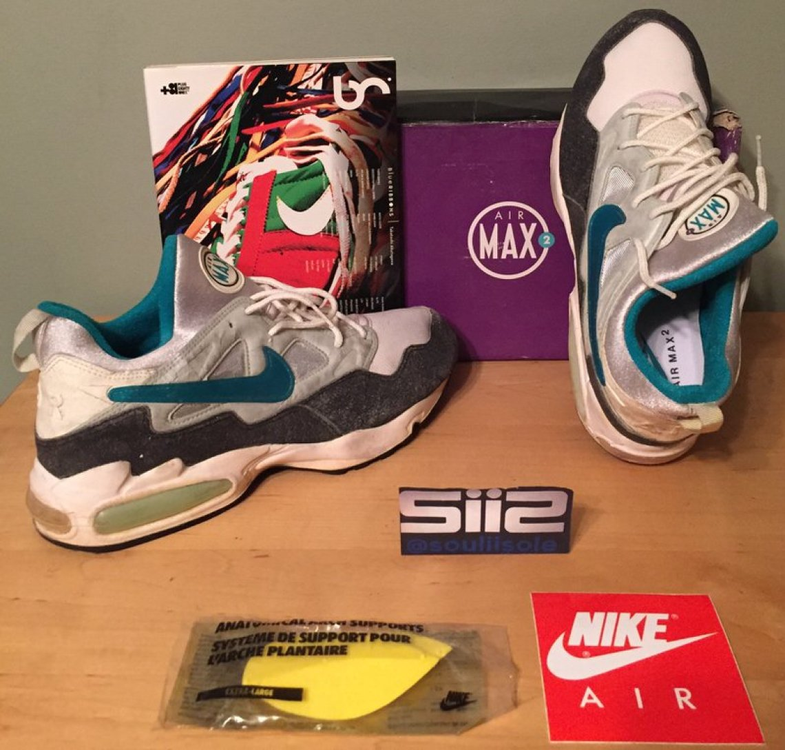 80a4949abb The Air Max2 running shoe served as a predecessor to other Air Max2 models  across multiple sport domains including Barkley's Air Max2 CB, Air Max2  Uptempo, ...