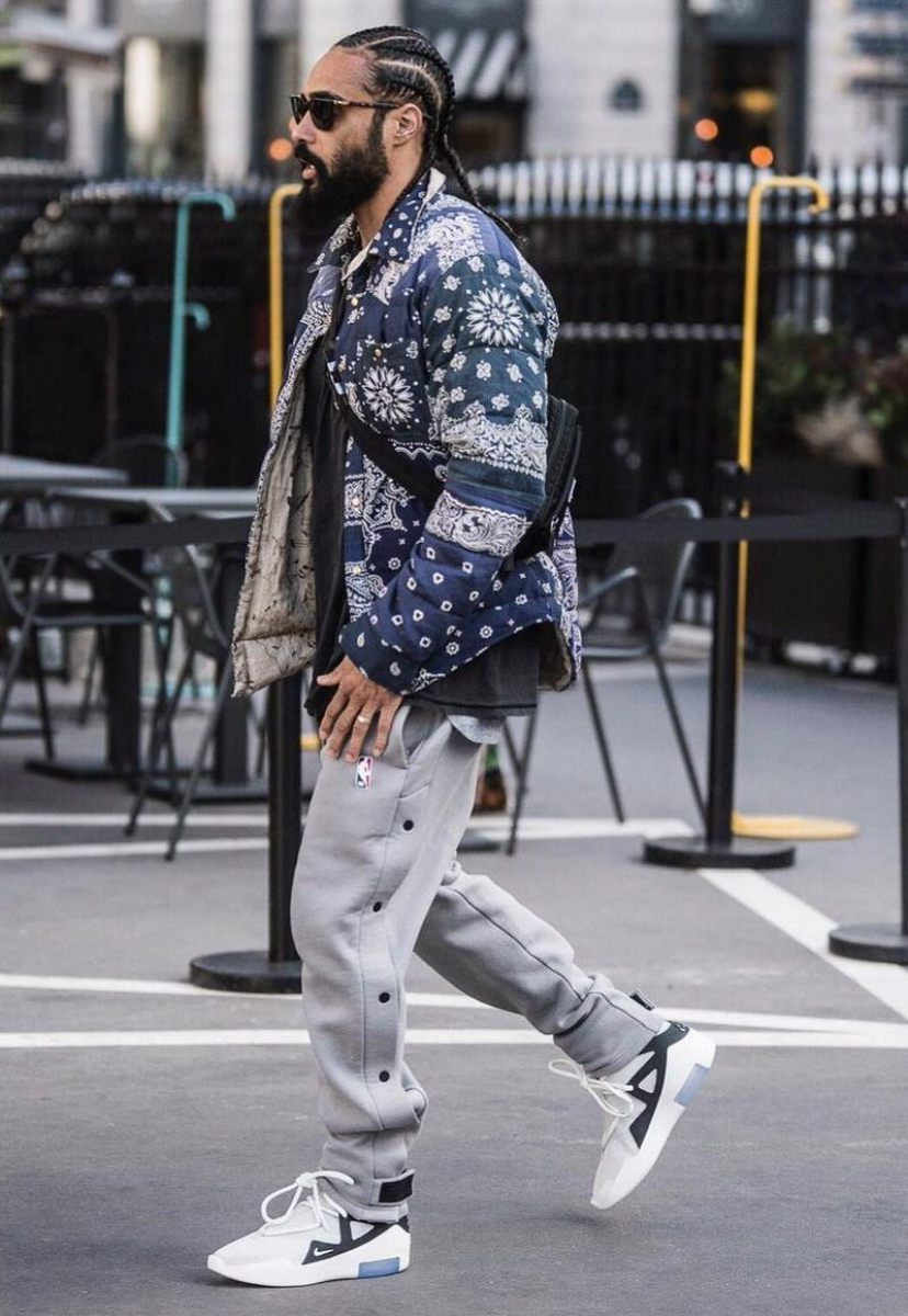 Jerry Lorenzo in the Nike Air Fear of God 1