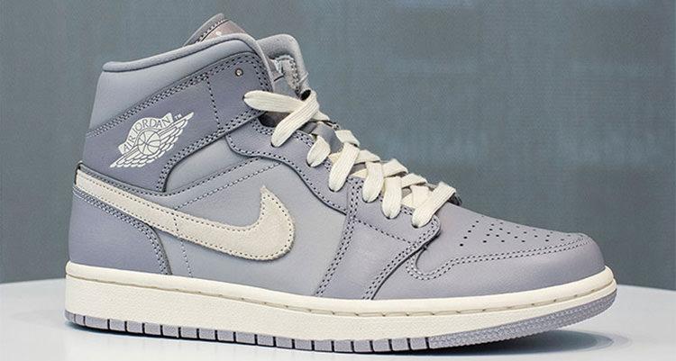 """Air Jordan 1 Mid """"Grey"""""""