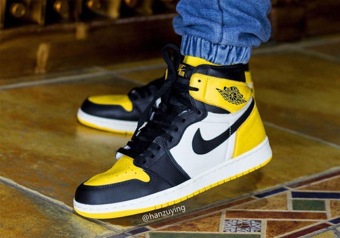 """Air Jordan 1 """"Yellow Toe"""""""