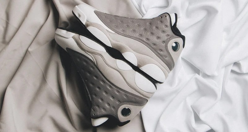 "big sale 0fbfe 51c9b Air Jordan 13 ""Atmosphere Grey"" Helps Jordan Brand Usher in Spring"