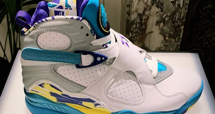 """Air Jordan 8 """"Aqua"""""""