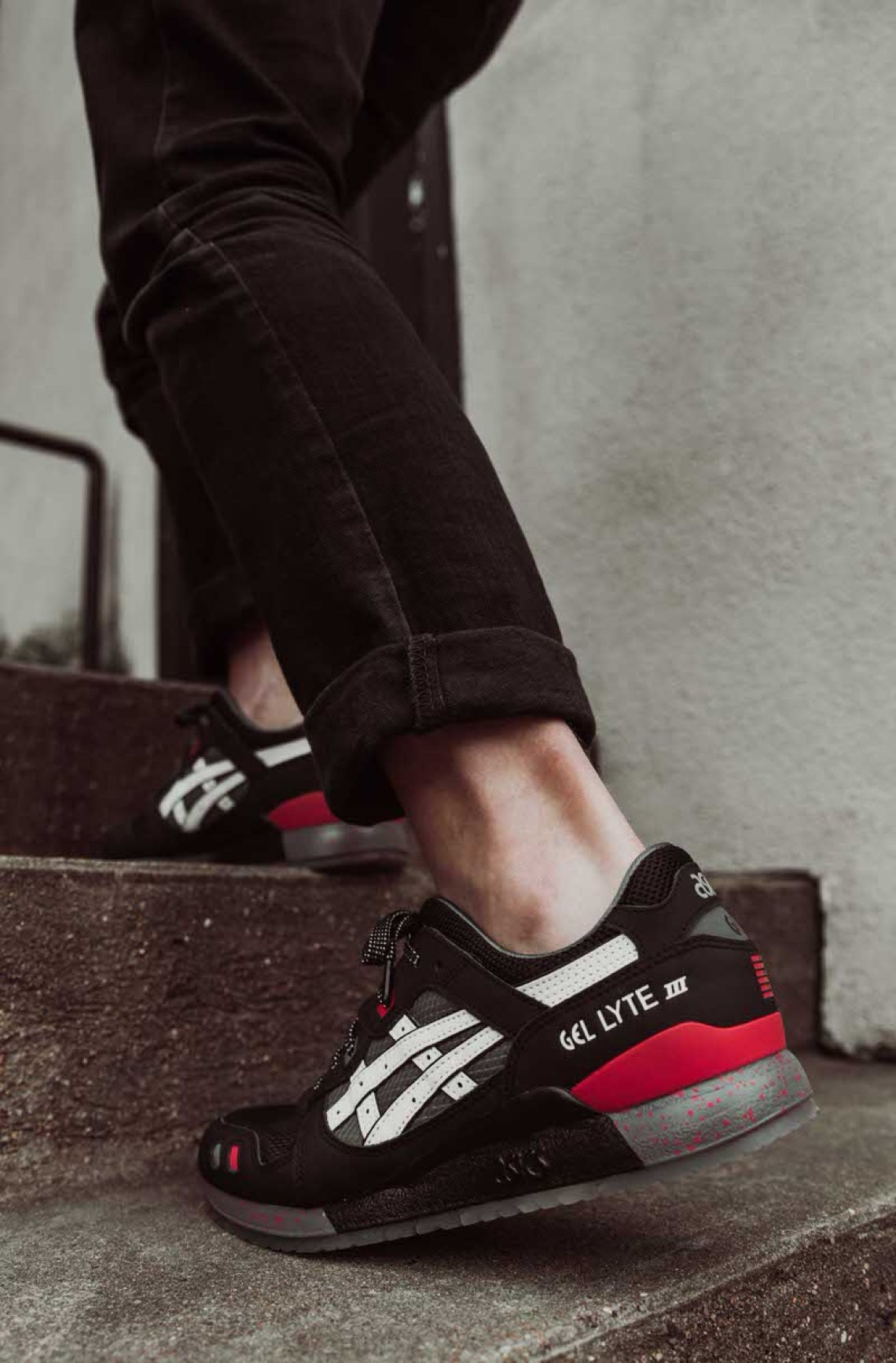 """separation shoes df7b7 40d04 Grab your pair of the ASICS GEL-Lyte III """"Snake Eyes"""" here."""