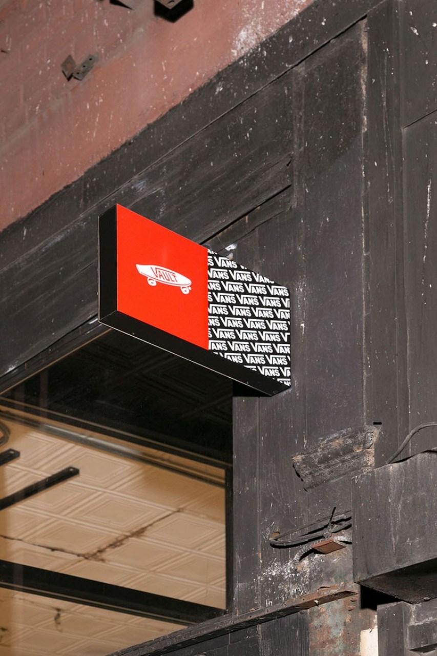 Vans Vault Location at 219 Bower, New York, NY 10002