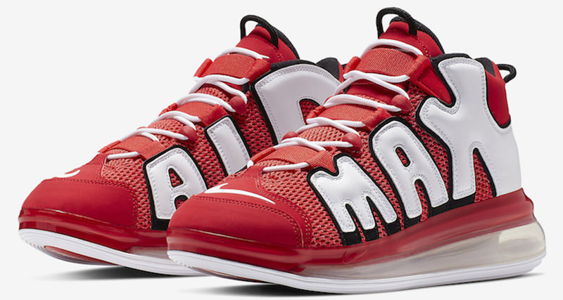 online retailer ed7eb bf775 Nike Air More Uptempo 720 Dons Bulls Theme