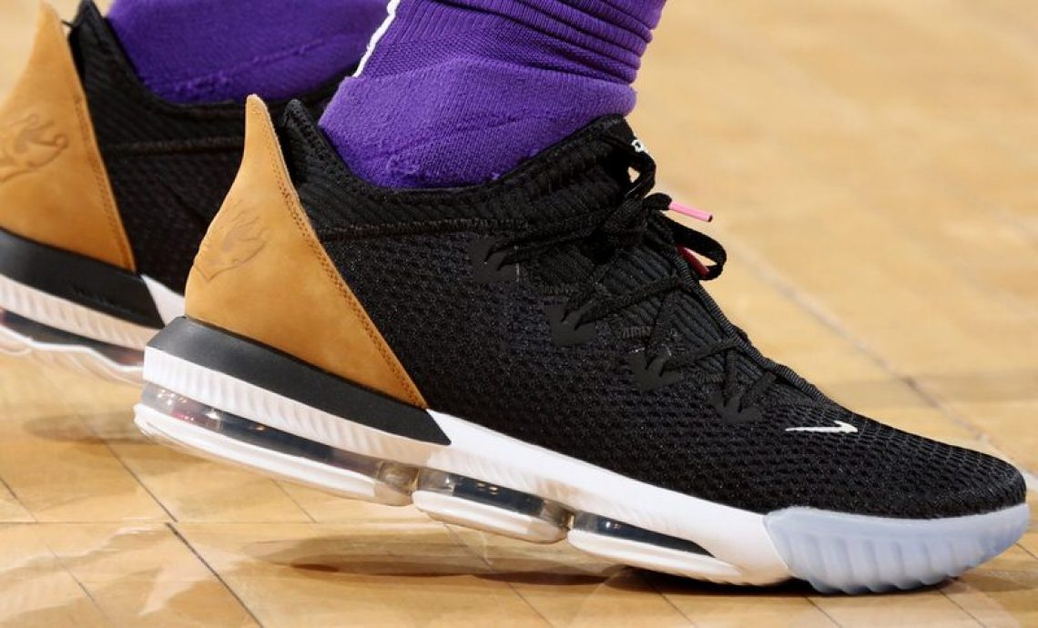387d6c92065b2 ... LeBron James in the Nike LeBron 16 Low PE vs. New York Knicks  (Nathaniel S. Butler NBAE via Getty Images) ...