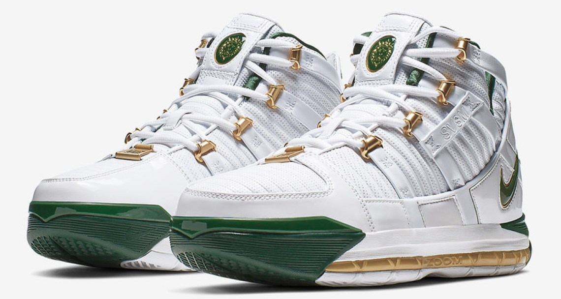 "official photos aedad bc6eb When You Can Cop the Nike LeBron 3 ""SVSM Home"" PE"