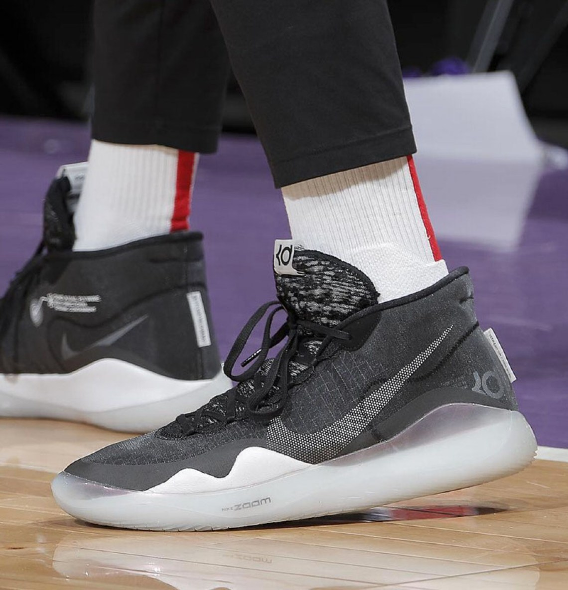 timeless design cc1c1 76b63 ... PJ Tucker in the Nike Zoom KD 12 (photo by Rocky Widner via NBA Kicks)