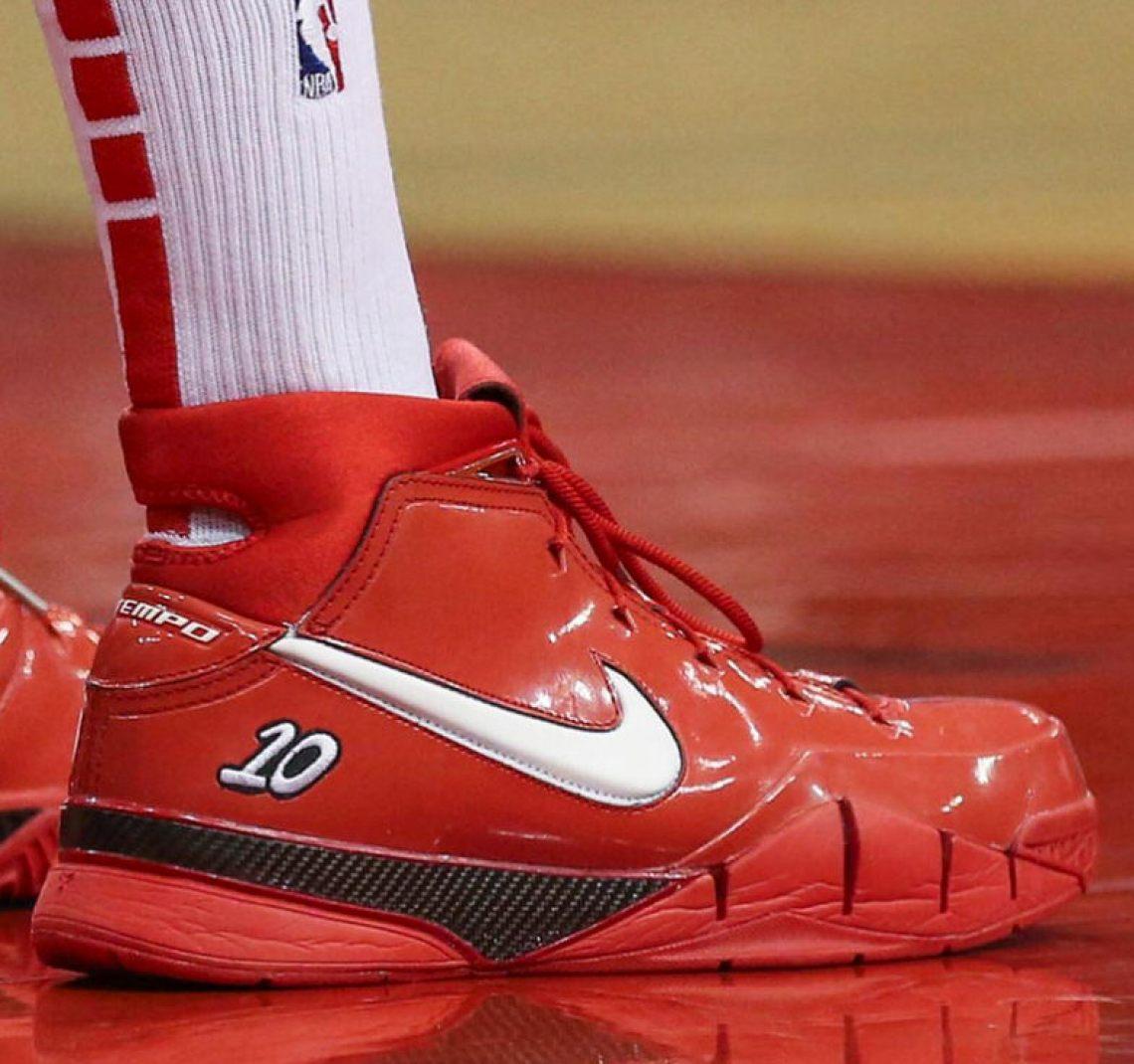 bdbe4d2a577 ... PJ Tucker in the Nike Kobe 1 Protro DeMar DeRozan PE (via Complex  Sneakers) ...