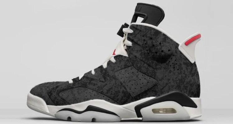 "Air Jordan 6 ""Washed Black Denim"""