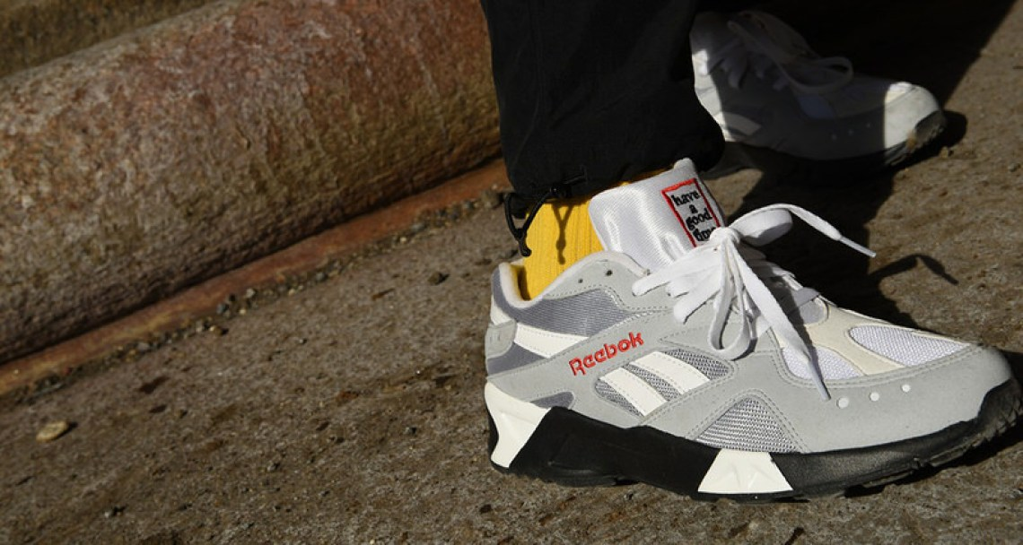 have a good time x Reebok Aztrek