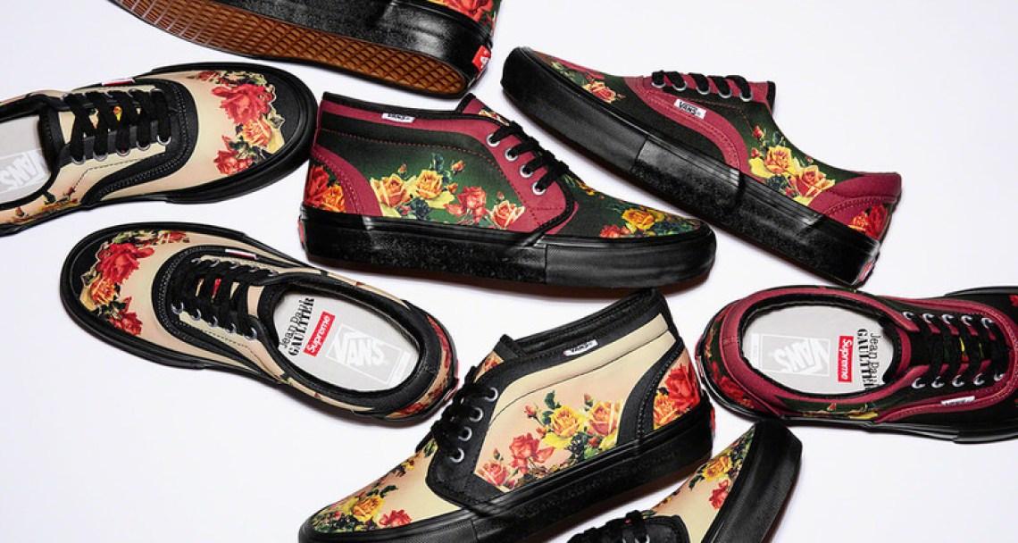 Jean Paul Gaultier x Supreme x Vans