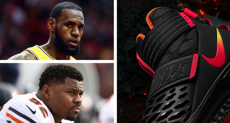 How LeBron James Inspired Khalil Mack's New Nike Football Cleats