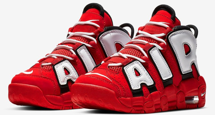 "Nike Air More Uptempo ""University Red"""