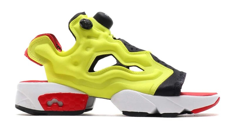4a553f7ecd9e The Reebok Instapump Fury Gets Converted Into a Summer Sandal