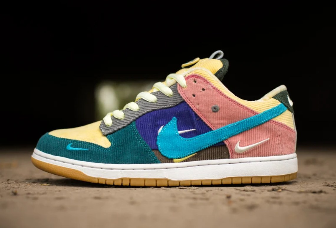 premium selection 0aa6c 4da3e ... from two Sean Wotherspoon x Nike hats, the styling is reminiscent of  the famous Air Max hybrids and right on trend with the resurgence of SB  Dunks.