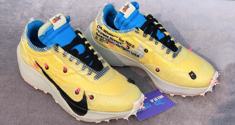 """finest selection 63960 fe3cc Off-White x Nike Vapor Street Previews Post """"The 10"""" Direction"""