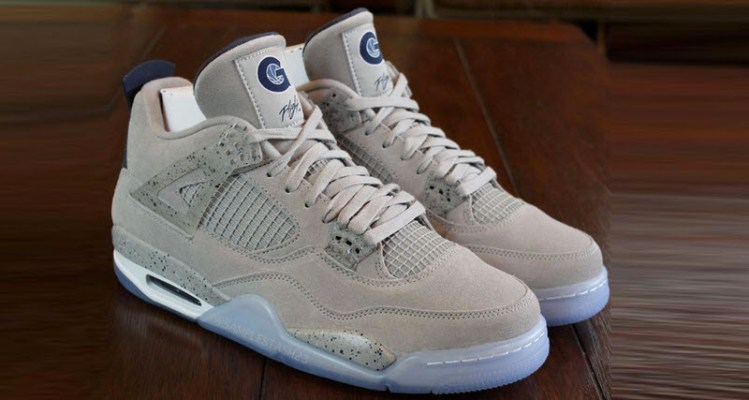 b4148d8ec8ad This Air Jordan 4 is Only for Hoya Hoopers