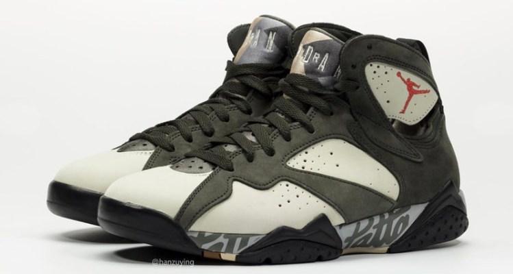 sports shoes 83e98 b53e2 Here's the Second Patta x Air Jordan 7 Collaboration