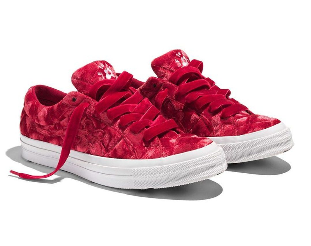 """Golf le Fleur x Converse One Star """"Quilted Velvet"""""""