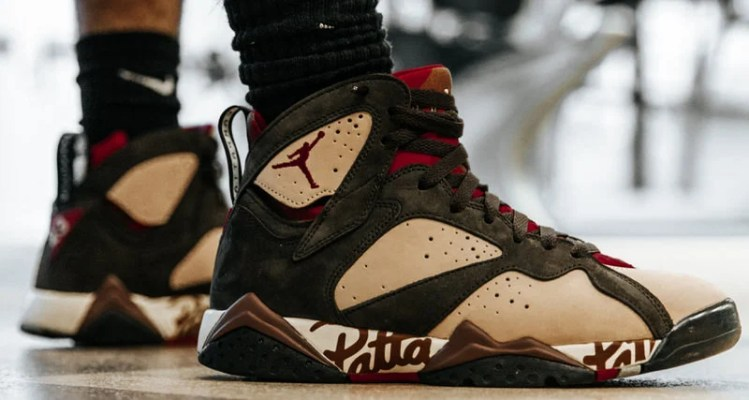 957eab4896e7c3 When You Can Cop the Patta x Air Jordan 7