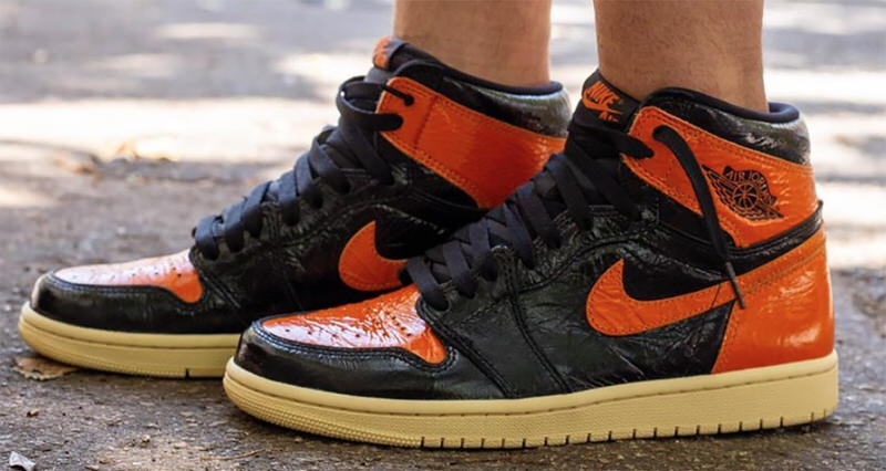 "timeless design 990cf ec83b How the Air Jordan 1 ""Shattered Backboard 3.0"" Looks On Foot"